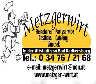 Metzgerwirt Bad Radkersburg Logo